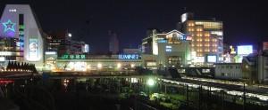 Shinjuku-station-night