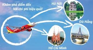 Vé máy bay giá rẻ, thỏa sức du lịch nội địa, nước ngoài 1