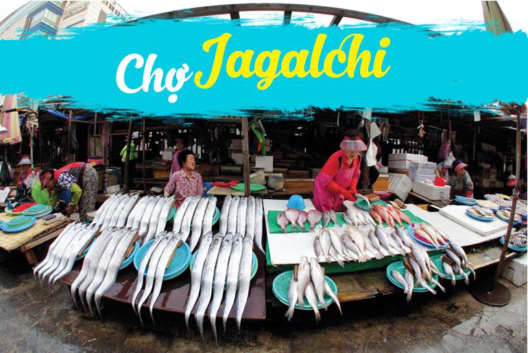 Kết quả hình ảnh cho chợ cá Jagalchi