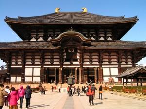 Đền-đài-Todaiji-du-xuân-Nhật-bản-2017