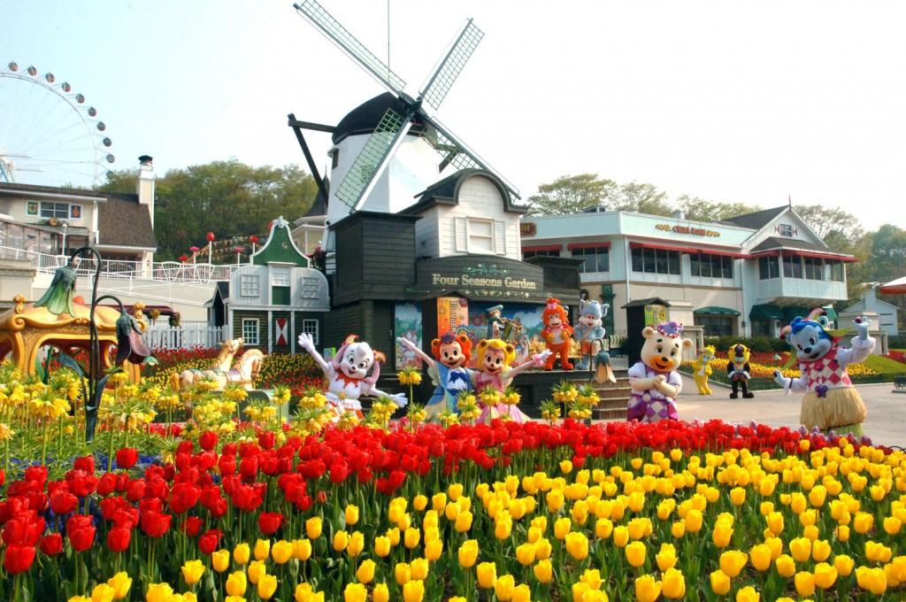 Công viên Everland - tour Hàn Quốc